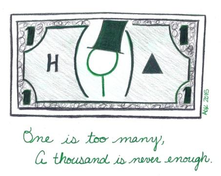 AA Dollar Bill